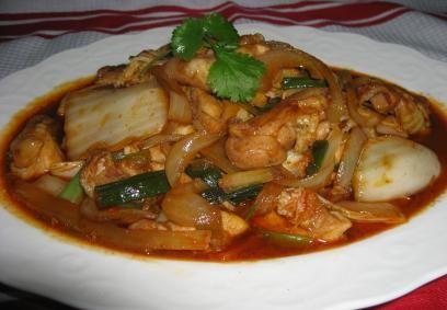 jela od kineske kupusa Fotografija
