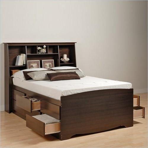 Kreveti, drveni, polusjajni