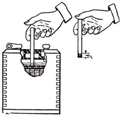 punjenje punjača baterije