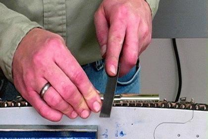 oštrenje lanca za motorne pile