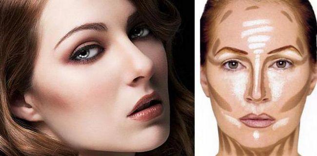 ispraviti značajke lica kod žena