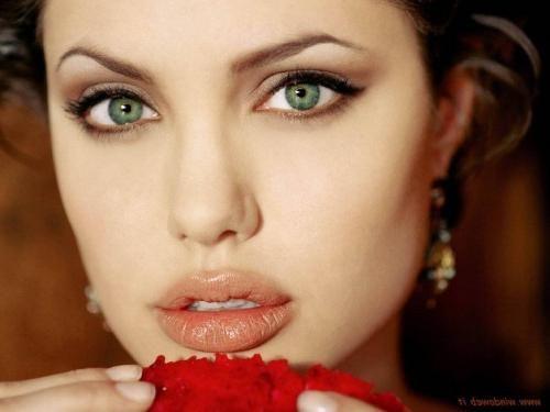 pravi make-up za zelene oči