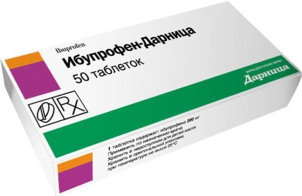 ibuprofena i alkohola