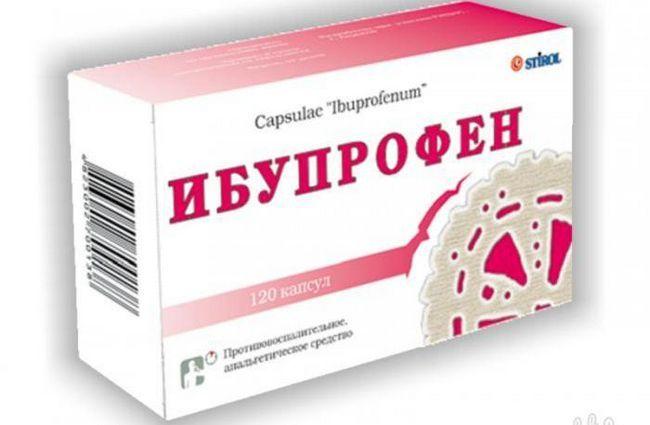 ibuprofen i kompatibilnost s alkoholom