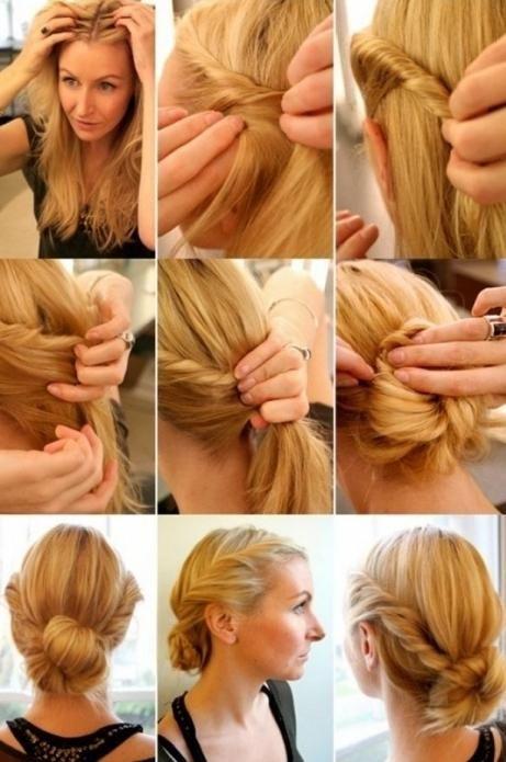 Korak po korak frizure za srednju kosu