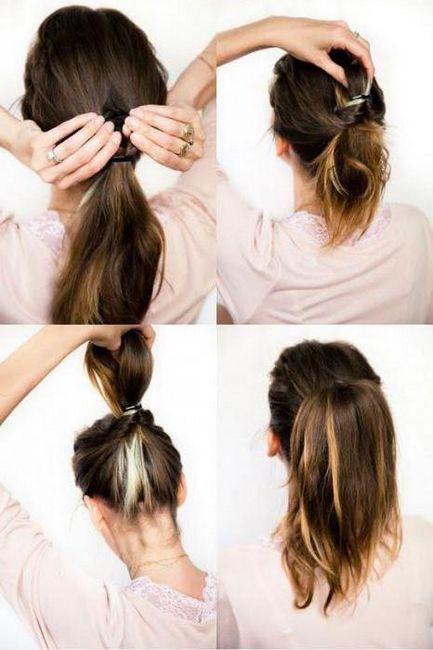 frizure s rakovima do srednje kose fotografije