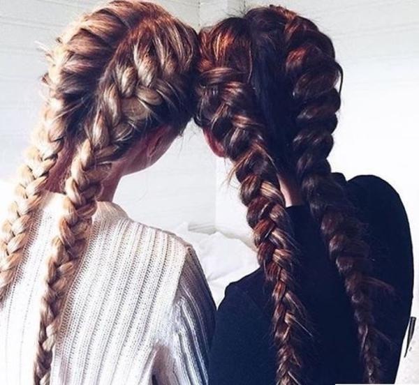 Djevojke s pletenicama