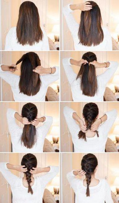 frizure za dugu kosu za 5 minuta