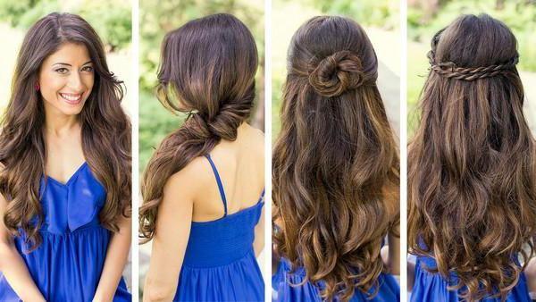 Prekrasne frizure za dugu kosu za 5 minuta