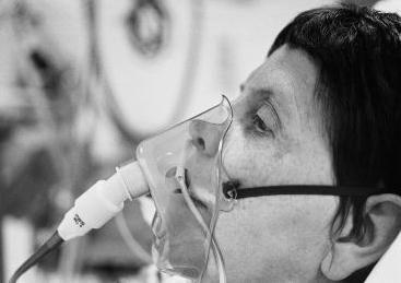 kisik terapija putem kastrukovnog aparata