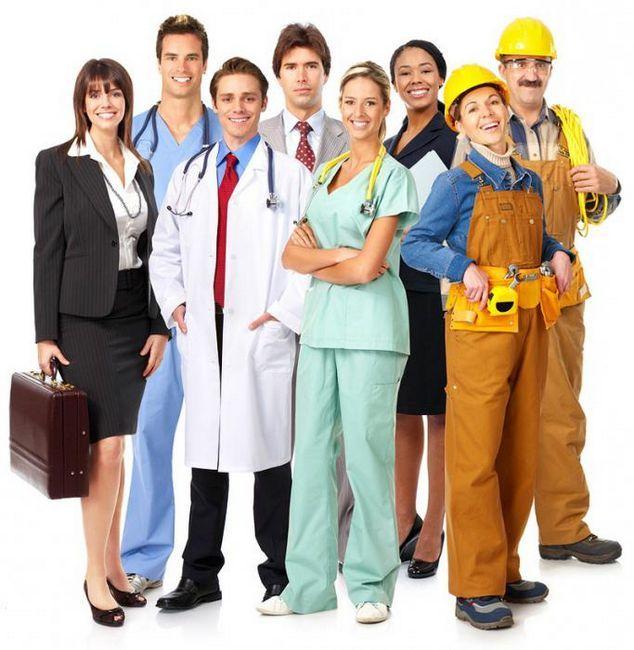 Профессии типа `человек-человек`. Список профессий типа `человек-человек`