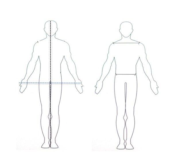 idealnim proporcijama tijela