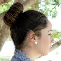 Početna frizura za srednju kosu