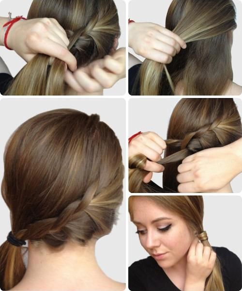home frizura za dugu kosu