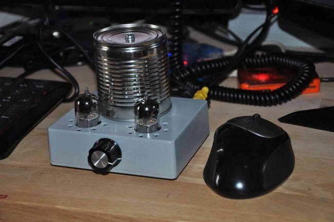 Jednostavno pojačalo slušalica za slušalice za hands-free rad
