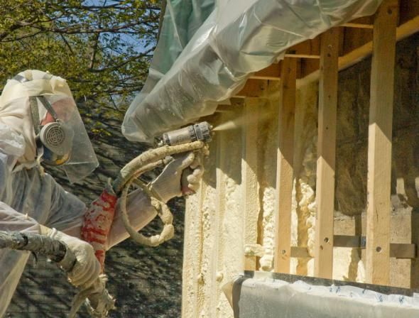 Postavljanje pjene Vatrostalni poliuretan