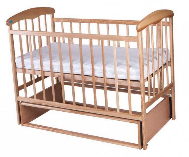 standardna dječja krevetića