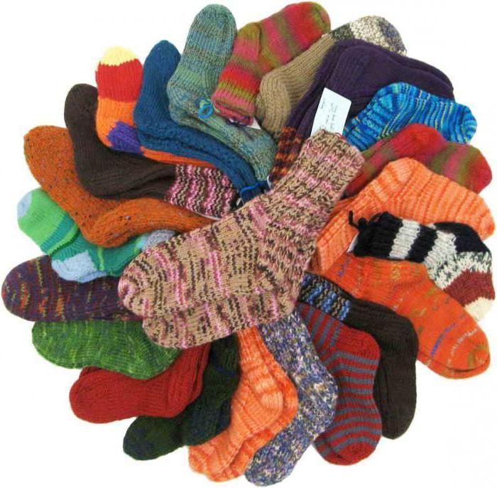 veličine vunenih čarapa za djecu