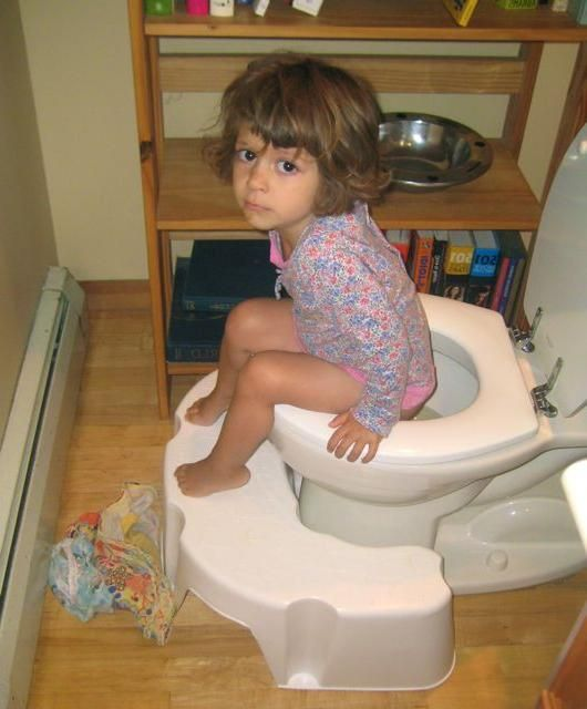 dijete je loše otišlo u WC