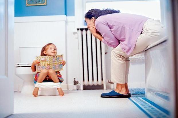 dijete rijetko odlazi u toalet
