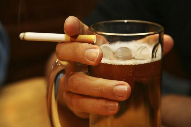 alkohol i pušenje