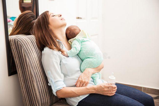 žena s djetetom