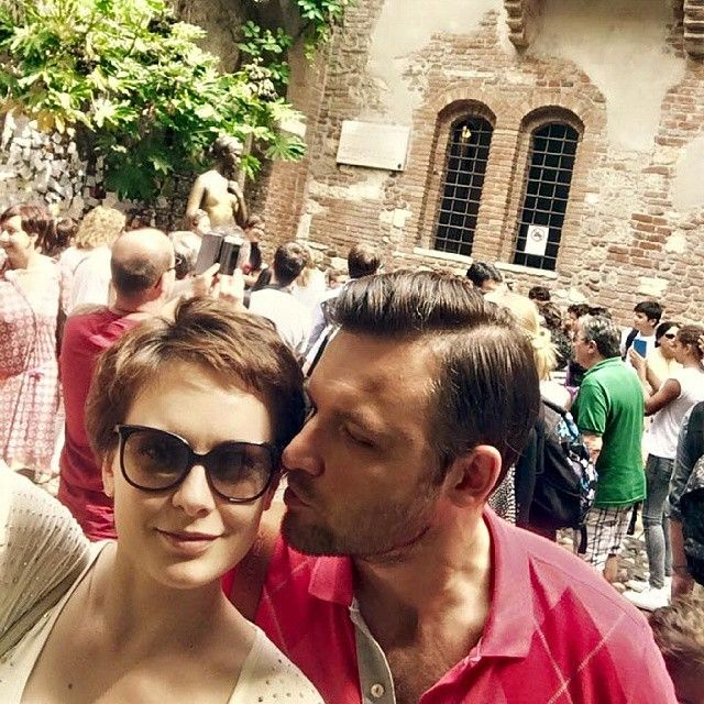 Ekaterina Olkina sa suprugom Ivanom Zamotayevom
