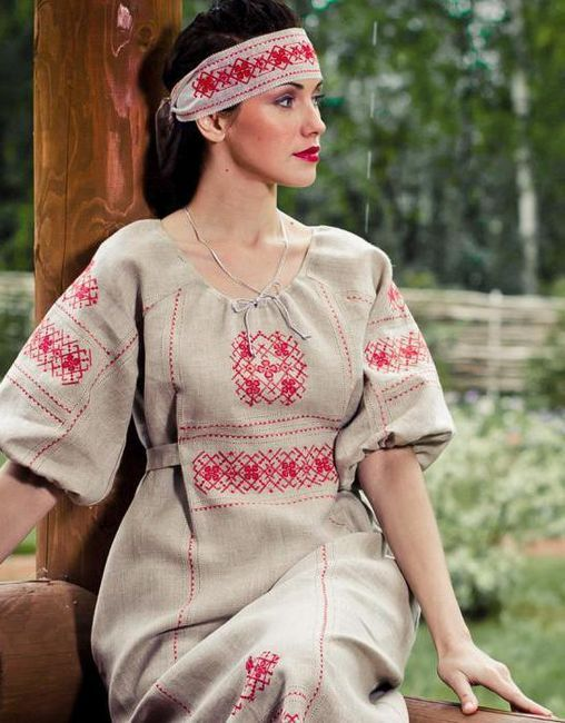 Ruski stil u odjeći