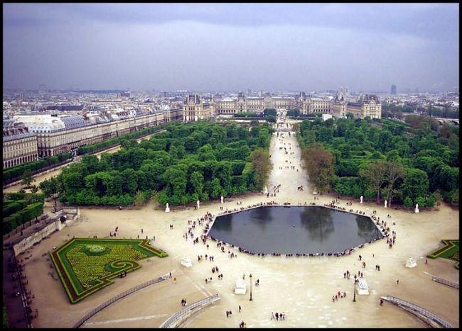 Сад Тюильри в Париже - старинный французский парк в сердце мегаполиса