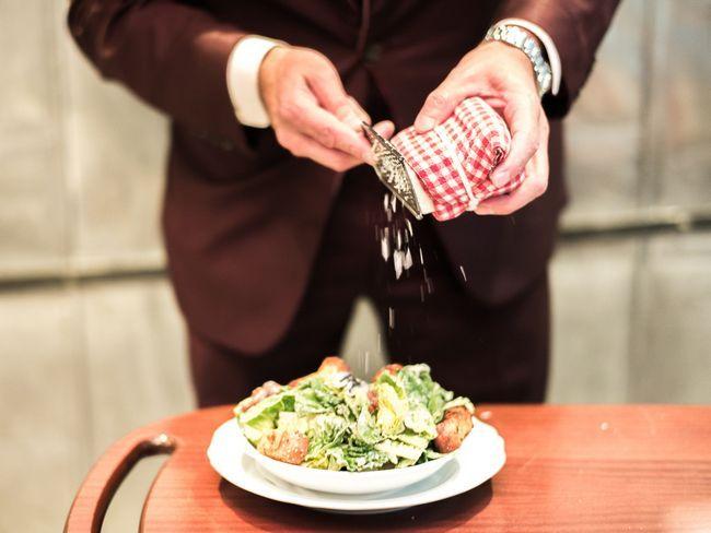 Kuhanje Caesar salate