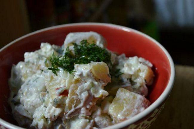 Salad Champs Elysees recept
