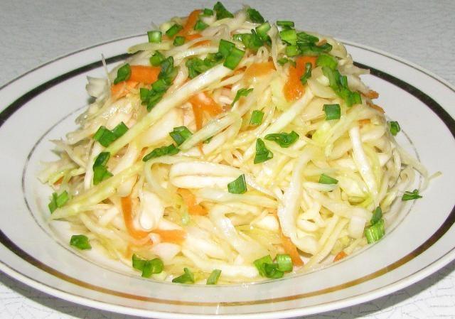 Salata od kupusa kalorijski sadržaj