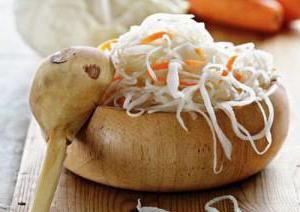 Kalorični sadržaj salate kupusa