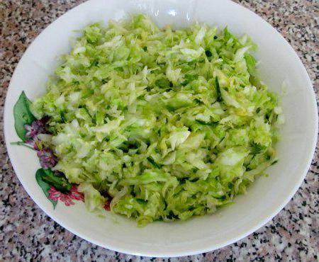 Svježi salatni kalorijski sadržaj