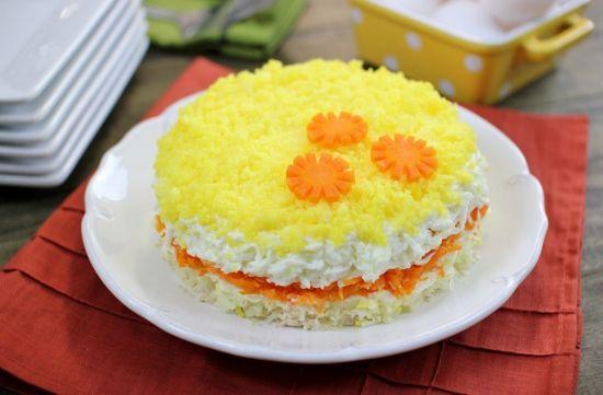Mimoza s maslacem