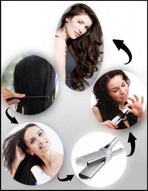 Kako koristiti željezo za kosu