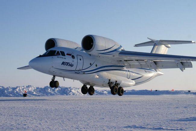 Zrakoplov AN-74: specifikacije, fotografije