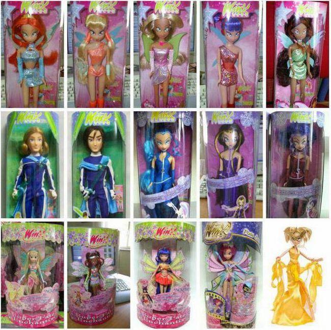 Najljepše lutke u Winx svijetu