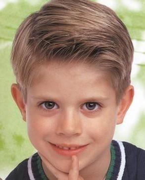 Dječja frizura za dječake Fotografija