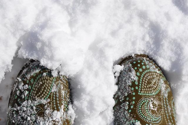zašto vam snijeg pod nogama