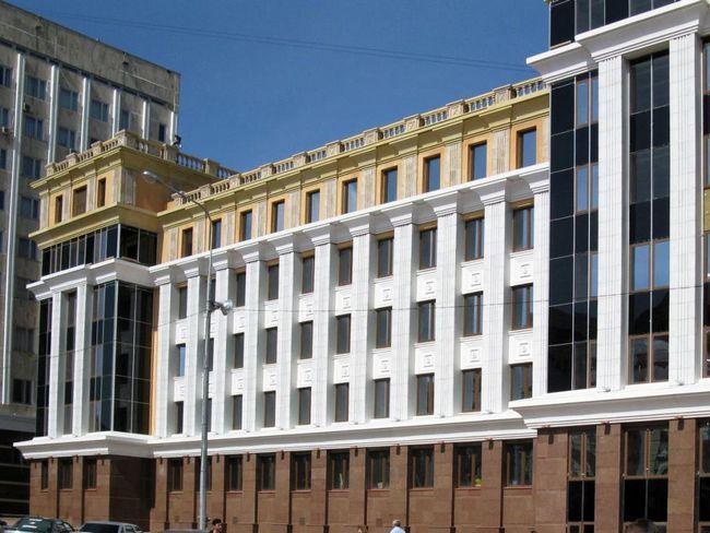 zgrade Sveučilišta u Mordoviji