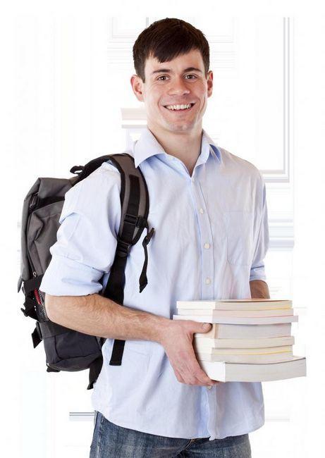 sudionik koji drži knjige