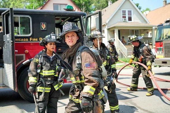 Chicago u seriji glumaca i ulozi vatrogasne serije