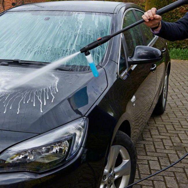 šamponi za neodgovarajuće pranje automobila