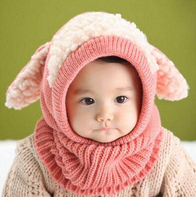 šešir za novorođenče