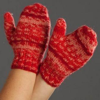 Pletenje rukavica za djecu s iglom za pletenje