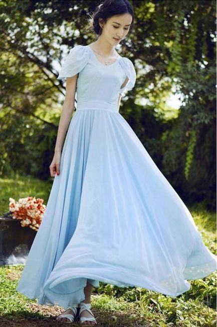 šifon haljine