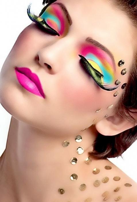 smeđe makeup lekcije