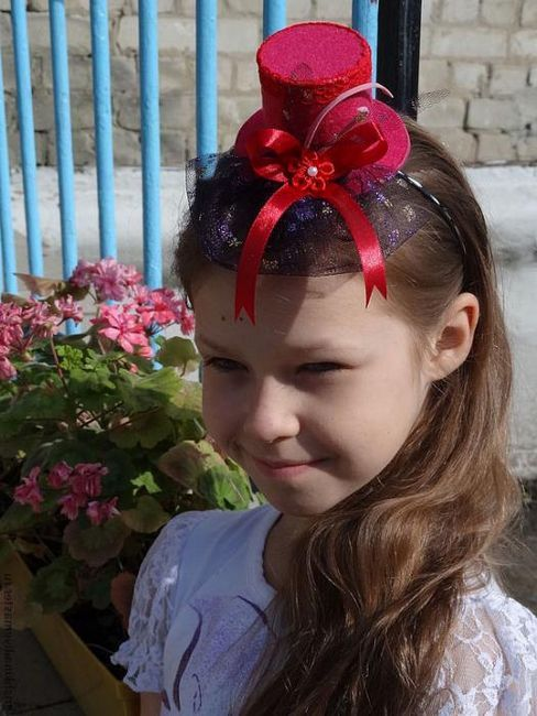 Шляпки для девочек своими руками: мастер-класс