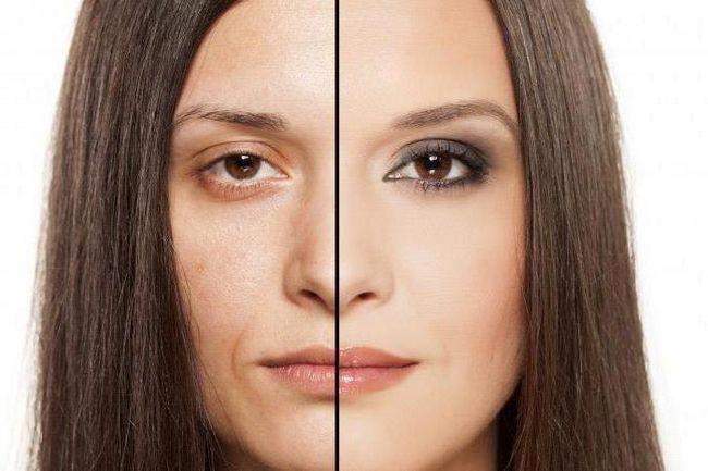 jednostavan make-up
